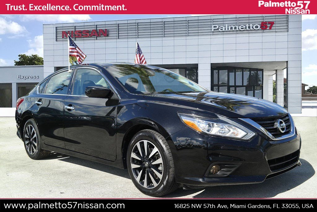 Pre-Owned 2018 Nissan Altima 2.5 SV