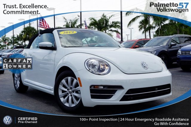 Certified Pre-Owned 2019 Volkswagen Beetle Convertible 2.0T S