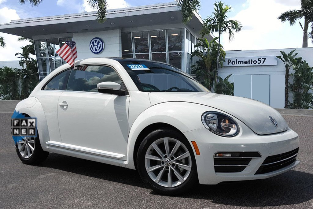 Certified Pre-Owned 2019 Volkswagen Beetle 2.0T SE
