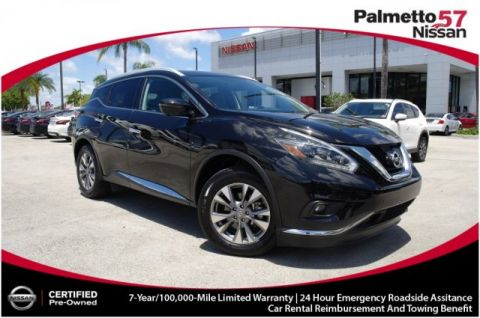 Pre-Owned 2018 Nissan Murano SL